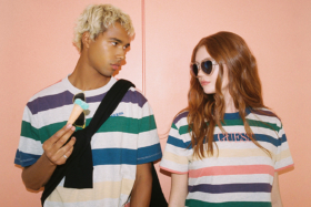 GUESS Fall 2020 Collection printed color shirts