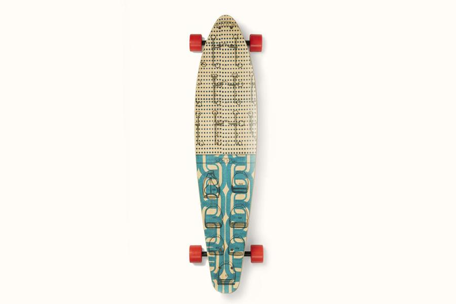 Hemes Bespoke Objects skateboard