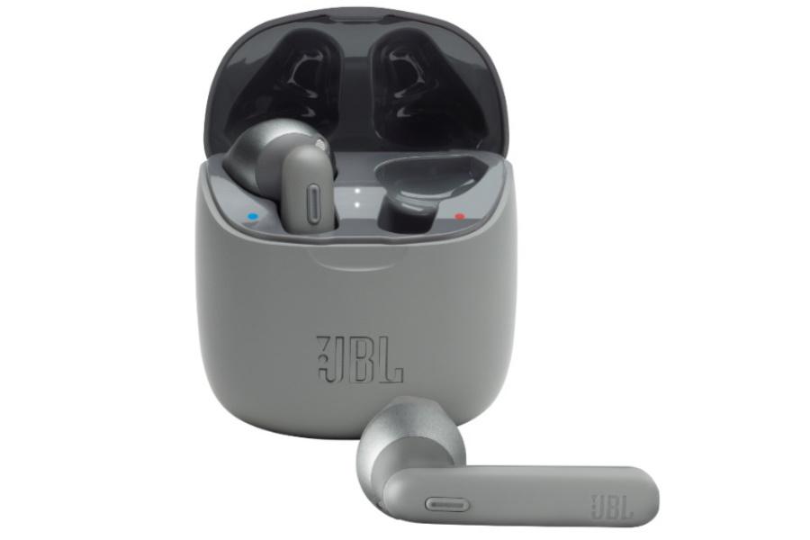 jbl earbuds in grey