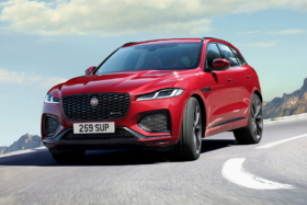 new jaguar f-pace in red