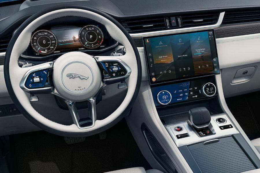 new jaguar f-pace interior