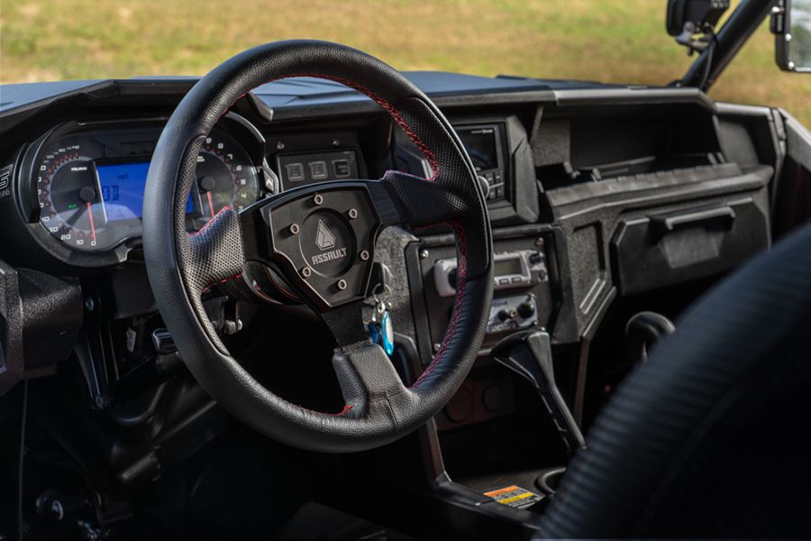 Baja Surfari UTV steering wheel