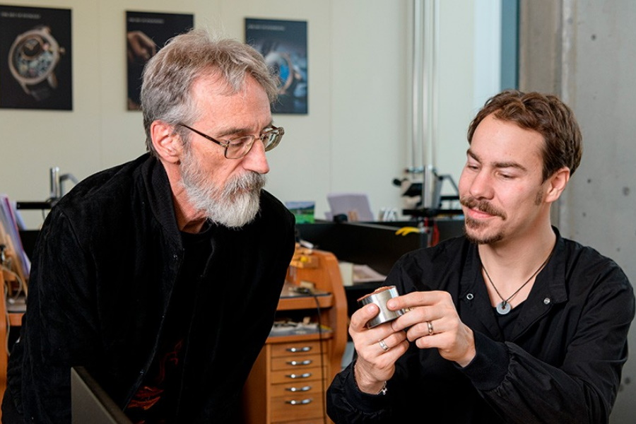 john howe working with jaquet droz