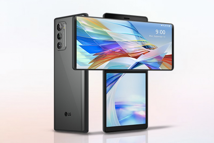 LG Wing Smartphone Hides a Second Screen in Plain Sight