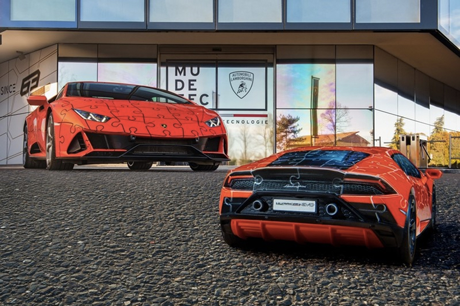 Lamborghini Huracan EVO Puzzle