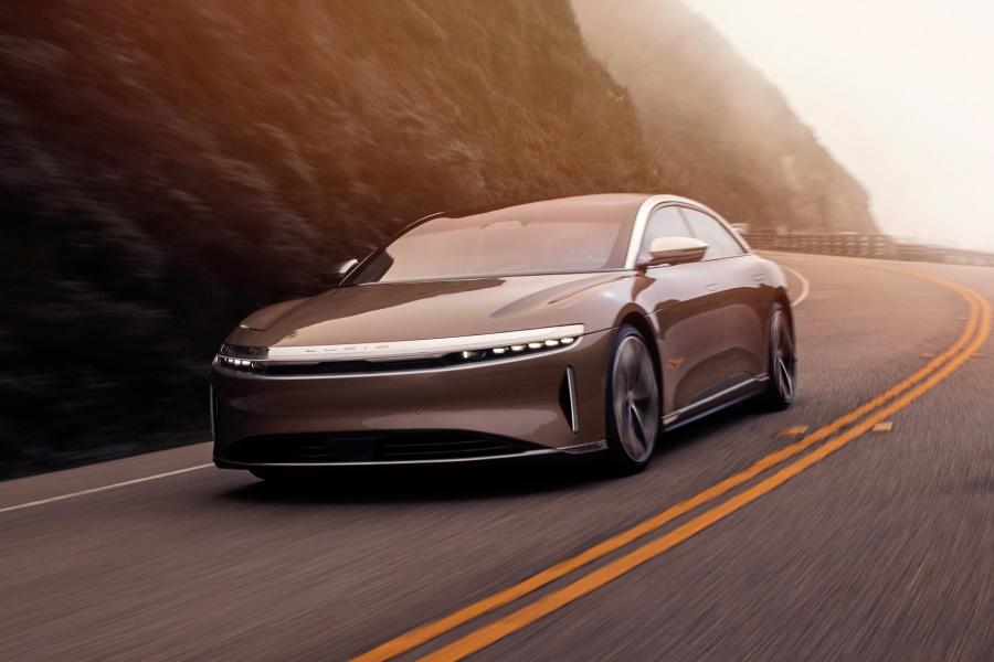 lucid motors luxury electric sedan