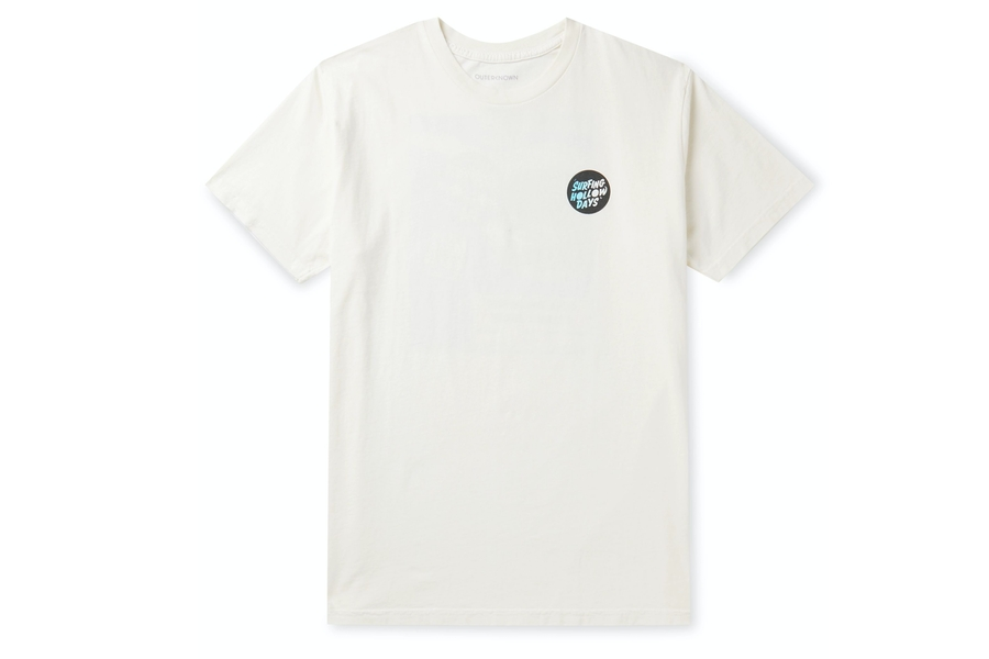 Outerknown Printed Organic Cotton-Jersey T-Shirt