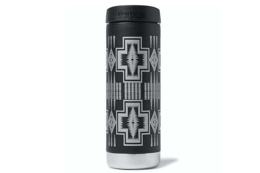 Pendleton Harding Stainless Steel Klean Kanteen Insulated Water Bottle