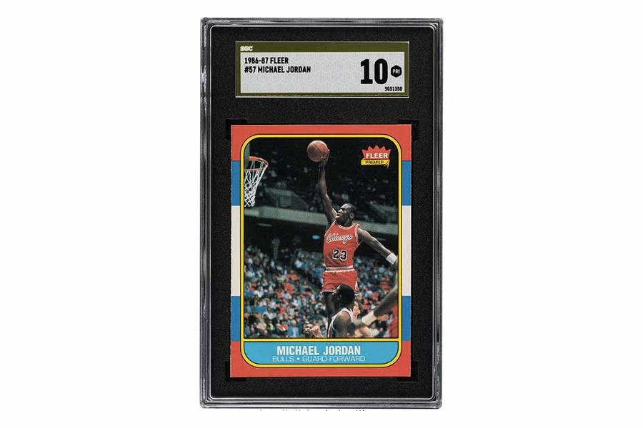 Michael Jordan Rookie Card