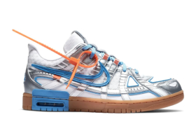 Nike Rubber Dunk x Off-White University Blue sneaker