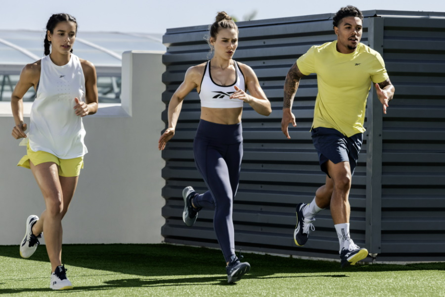 reebok united by fitness clothing