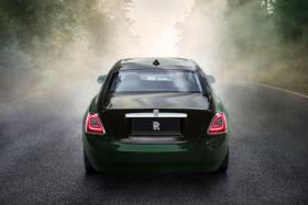 Back of Rolls Royce Ghost