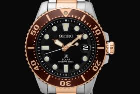 Limited Edition Seiko Prospex Solar Diver Watch dial