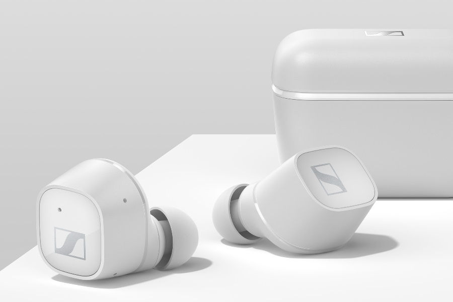 sennheiser true wireless earbuds white