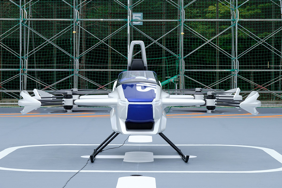 SkyDrive Flying Car front