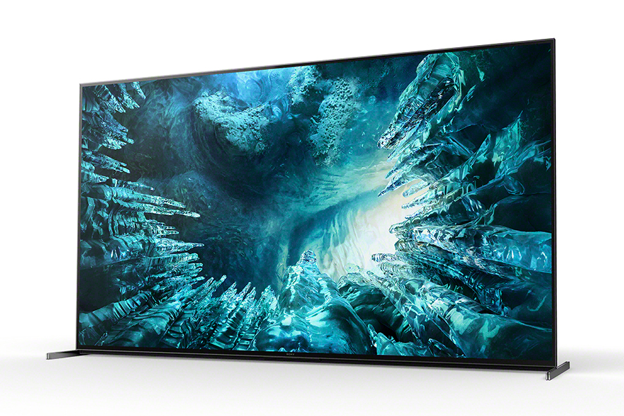 Sony Bravia TV's designed for PS5 side view