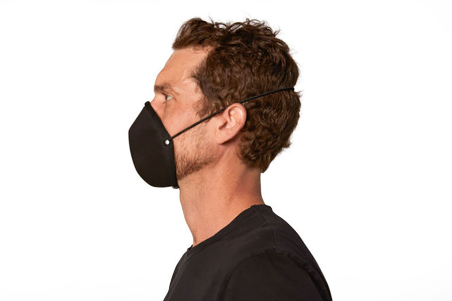 man wear Stephen King Face Mask