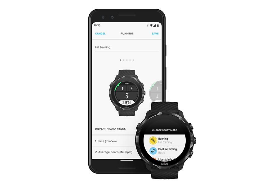 Suunto 7 Upgrades with app