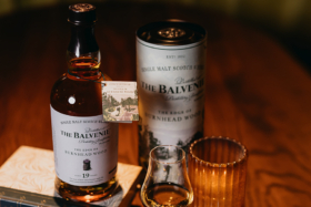 Bottle of The Balvenie The Edge of Burnhead Wood 19-year old whiskey