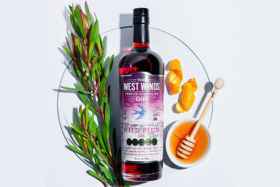 The West Winds Wild Plum Gin with honey