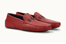 red Tods x Ferrari Driving Shoes
