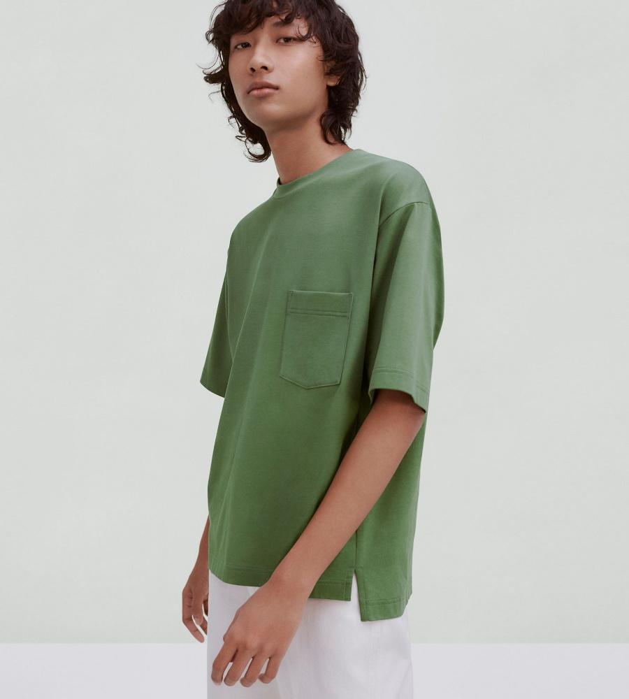 Uniqlo U green shirt