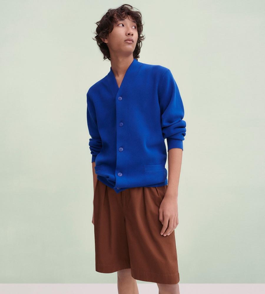 Uniqlo U blue shirt