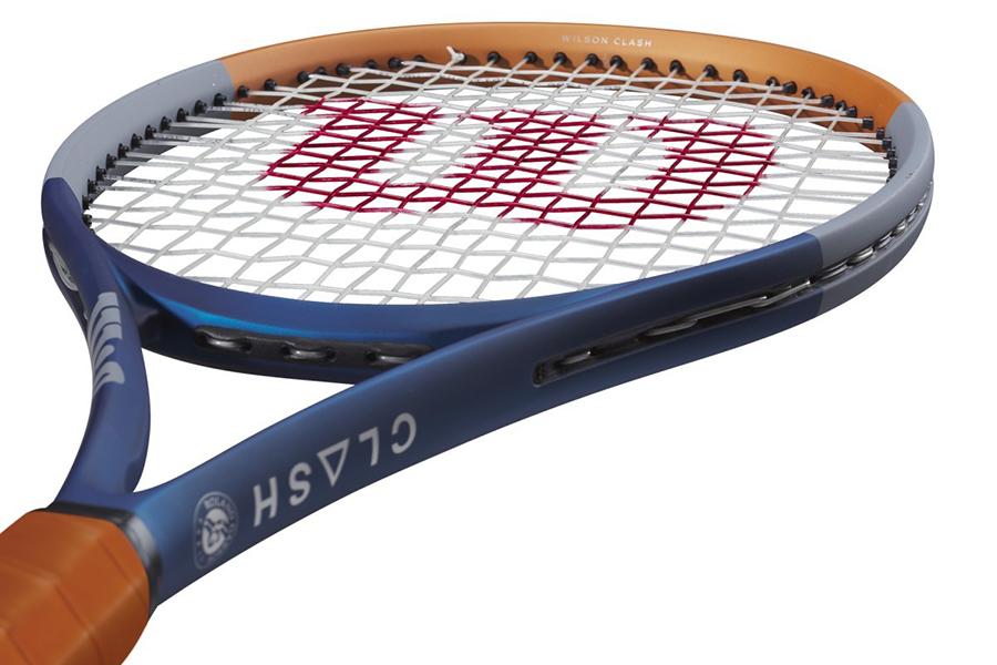 Wilson x Roland Garros Tennis Rackets top view