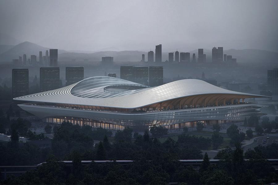 Xi'an International Football Centre 6