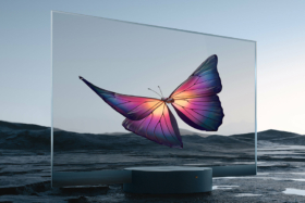 Xiaomi Seethrough TV side view