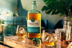The Singleton whisky bottle