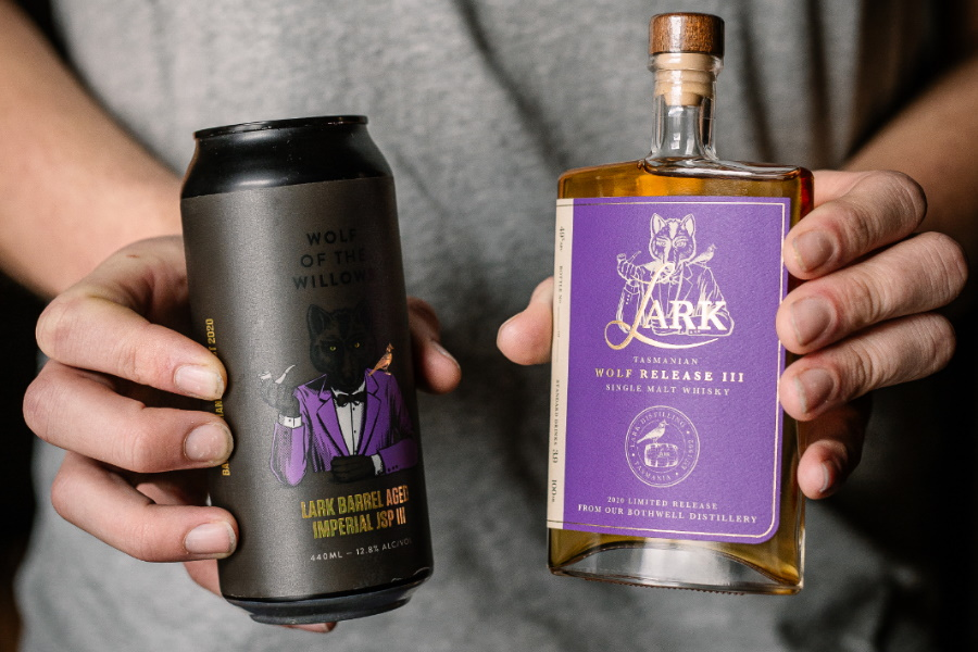 the wolf release whisky and beer