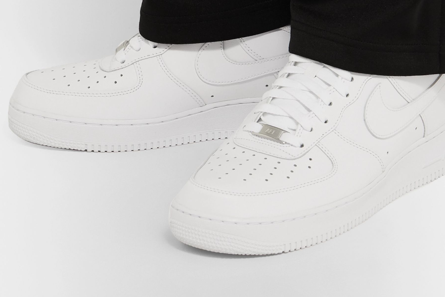 Cop These Air Force 1 '07 Leather Sneakers From MR PORTER | Man of ...