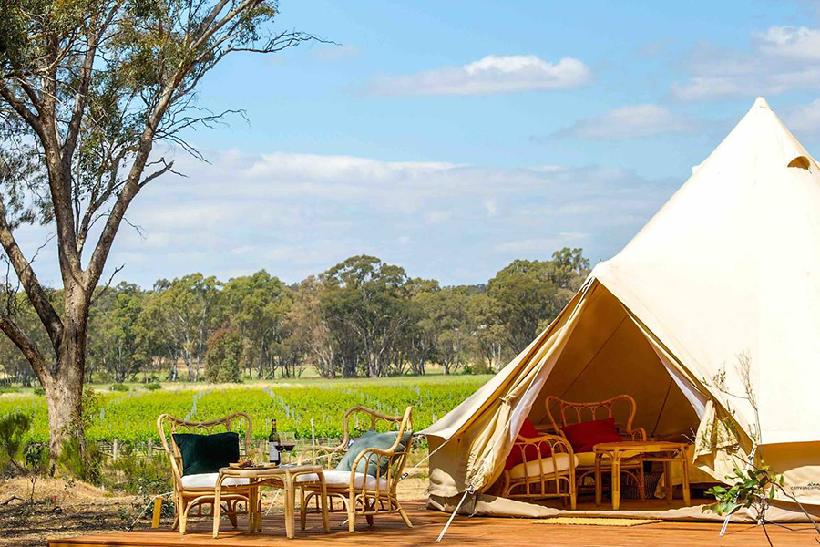 Balgownie Estate Glamping Melbourne