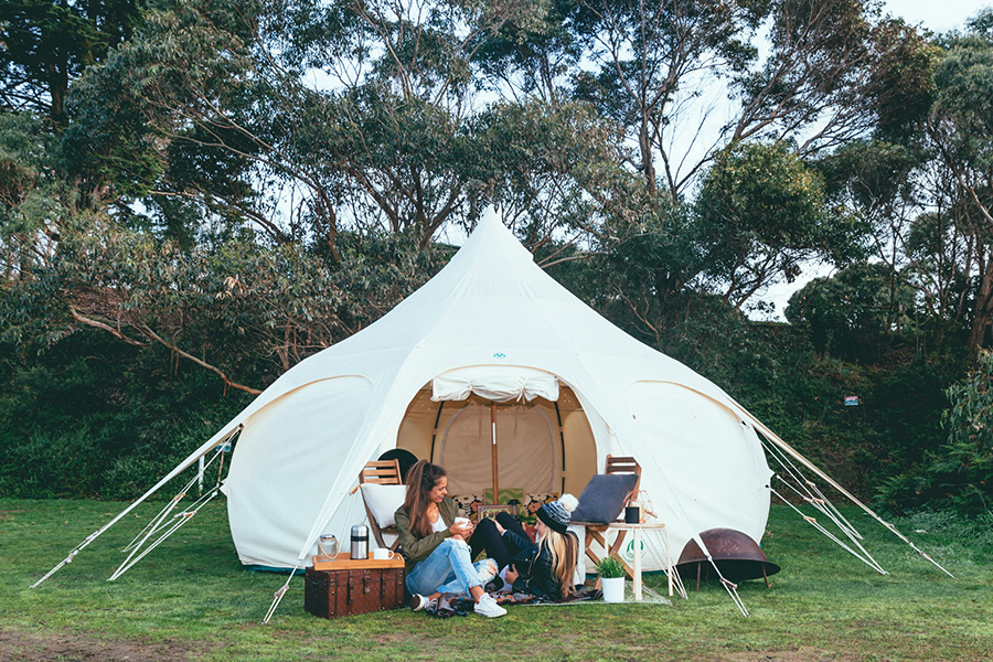 Happy Glamper Glamping Melbourne