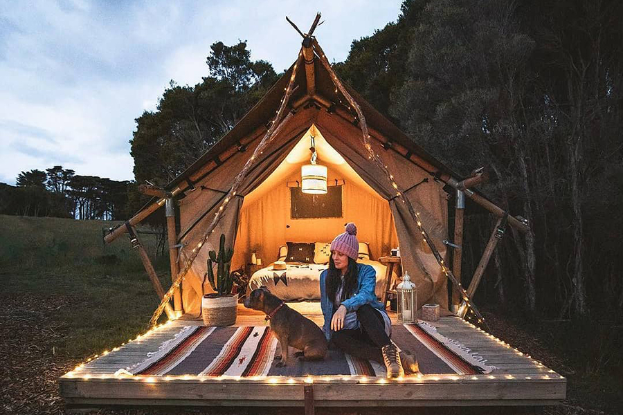 The Sheltered Glamping Company Melbourne