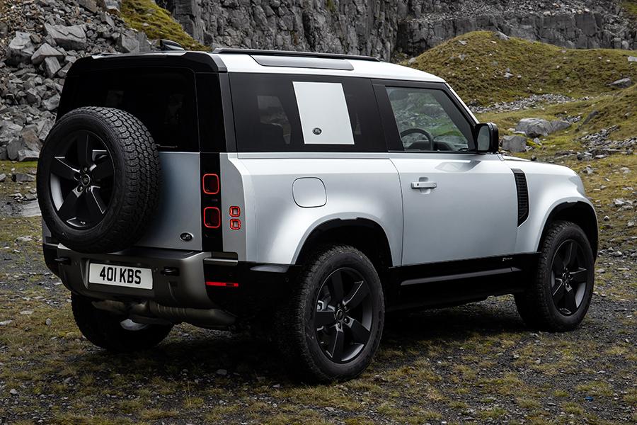 2021 Land Rover Defender P400e Hybrid back