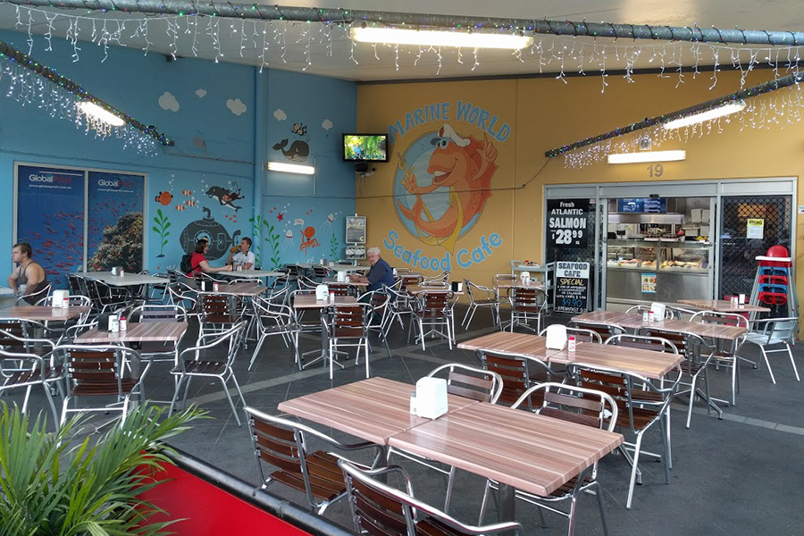 Fish and Chips Shops Brisbane - Marine World Seafood Café