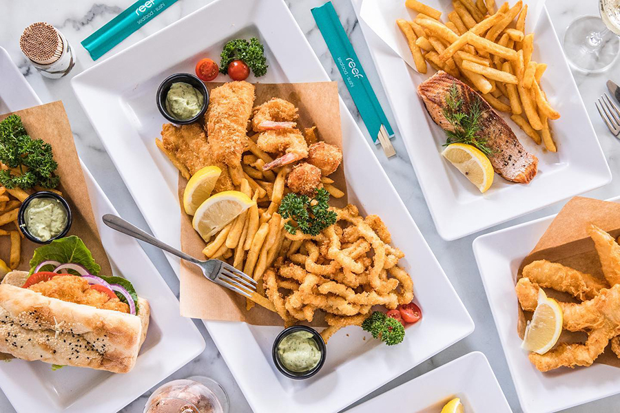 Fish and Chips Shops Brisbane Reef Seafood & Sushi
