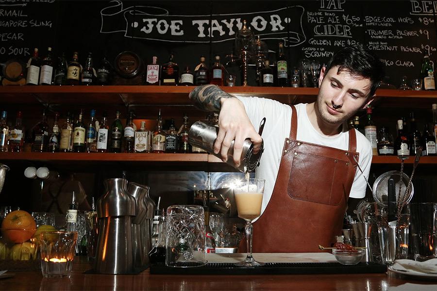 Joe Taylor Bars In Melbourne