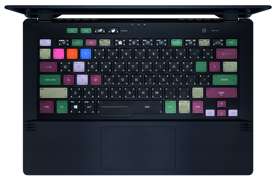 asus and acronym laptop