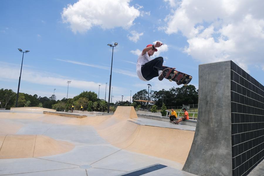 Alexandria New Skatepark