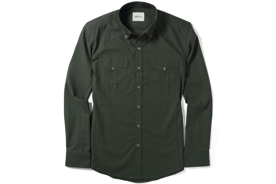 BatchEditor Shirt – Olive Green