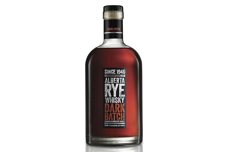 Best Canadian Whiskies - Alberta Rye Dark Batch