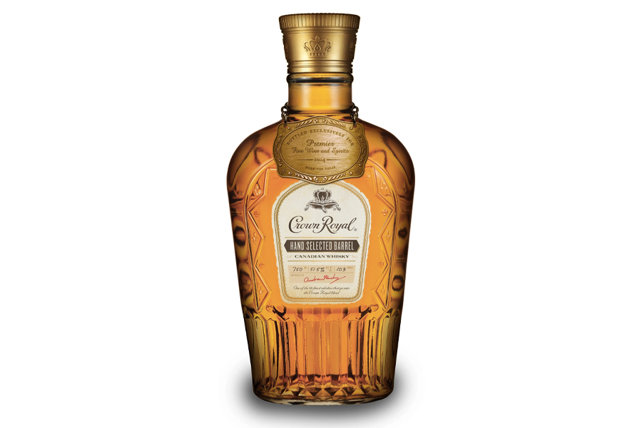 Best Canadian Whiskies - Crown Royal Hand Selected Barrel