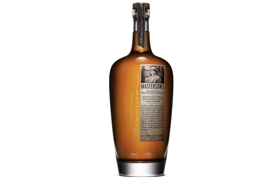 Best Canadian Whiskies - Masterson's 10 Year Old Straight Rye