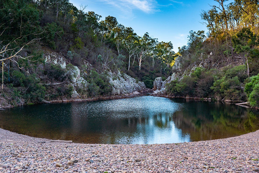 Free Camping Spots in Melbourne Blue Pool