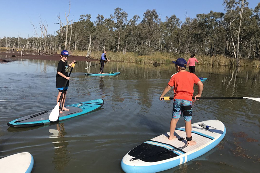 Free Camping Spots in Melbourne Gunbower Island