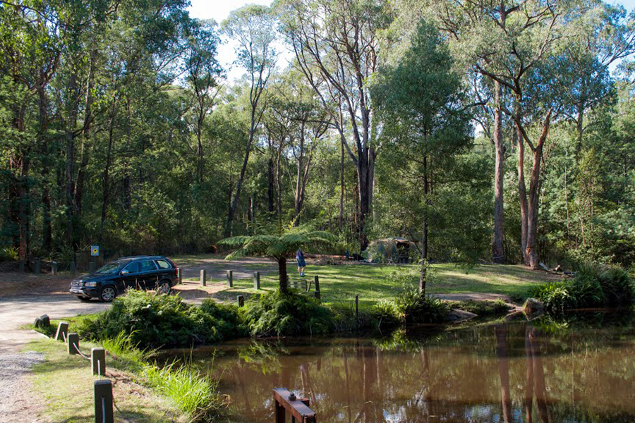 Free Camping Spots in Melbourne Kurth Kiln
