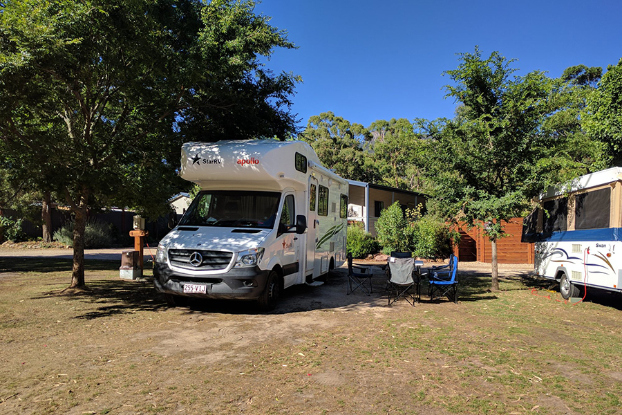 Free Camping Spots in Melbourne Plantation, the Grampians